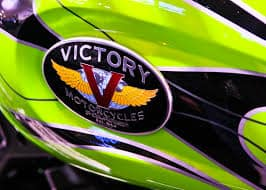 victory motorcycle tank