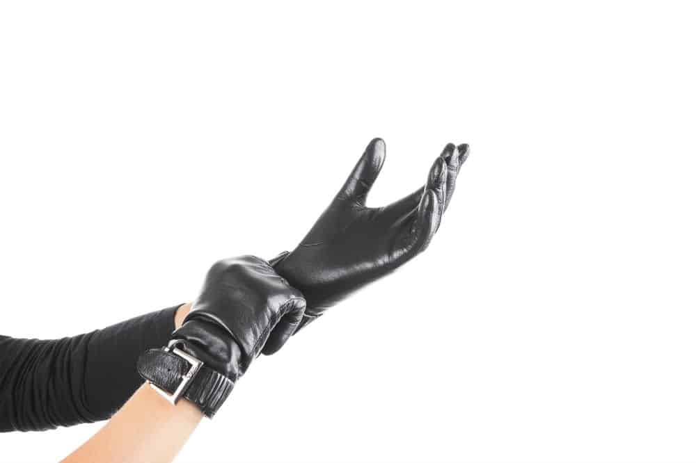 how to soften stiff leather gloves