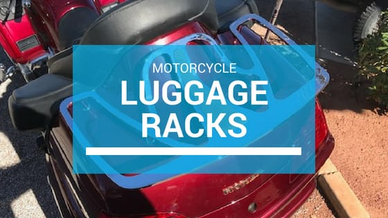 motorcycle luggage rack