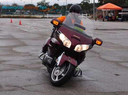 riding a goldwing gl1800