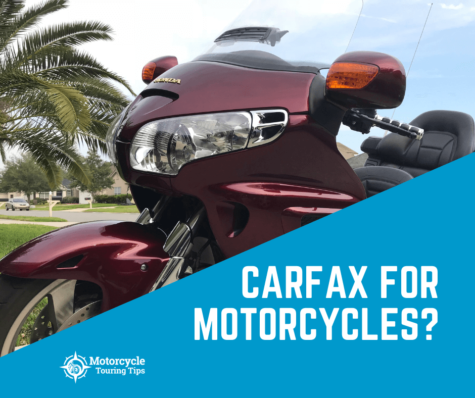 can you use carfax for motorjcycles